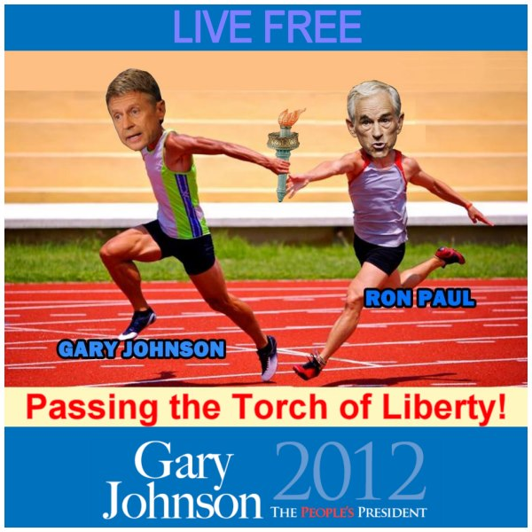 Passing the Torch of Liberty